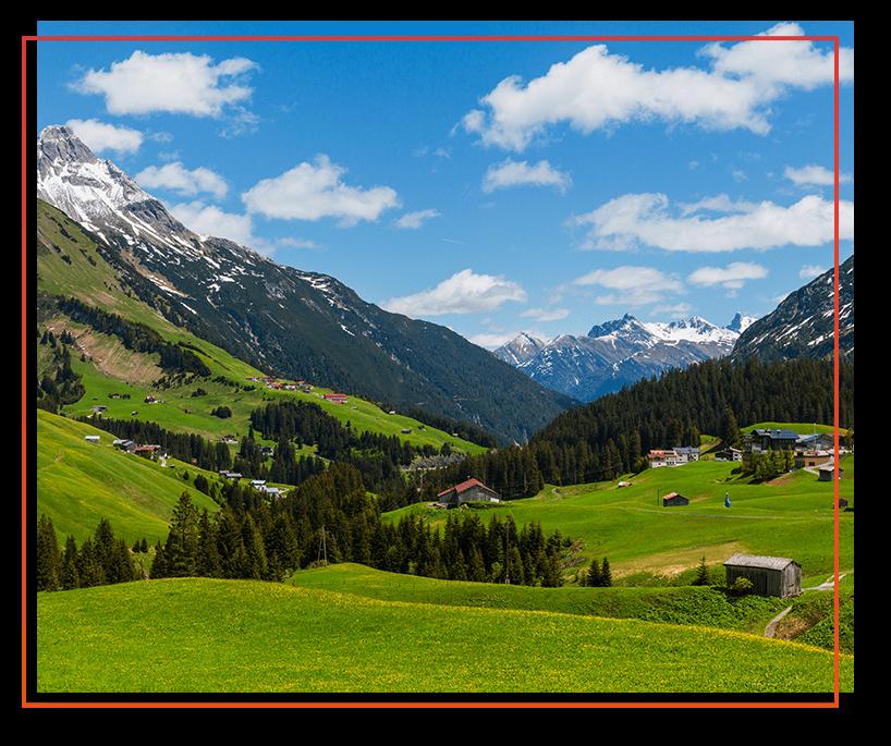 Den milden Sommer im Vorarlberg erleben